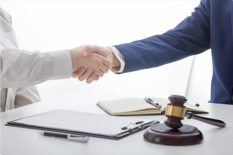 real estate closing handshake
